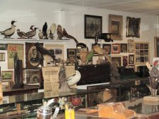 Inside the Spink County Museum at Redfield South Dakota